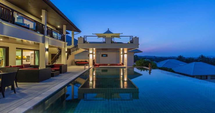 Expansive 6 Bedroom Sea View Villa in Maenam-4