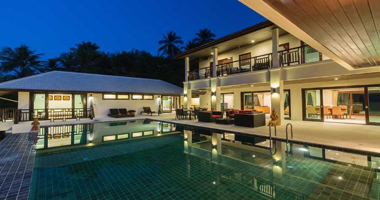 Expansive 6 Bedroom Sea View Villa in Maenam-1