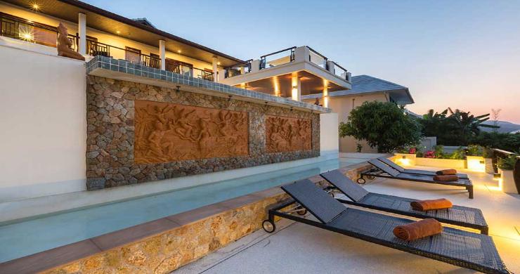 Expansive 6 Bedroom Sea View Villa in Maenam-19