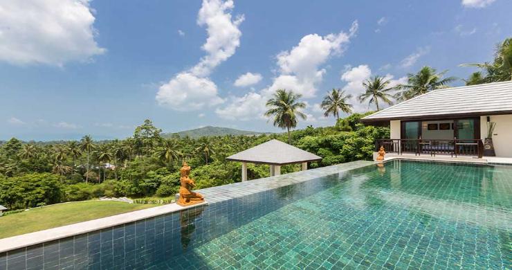 Expansive 6 Bedroom Sea View Villa in Maenam-3