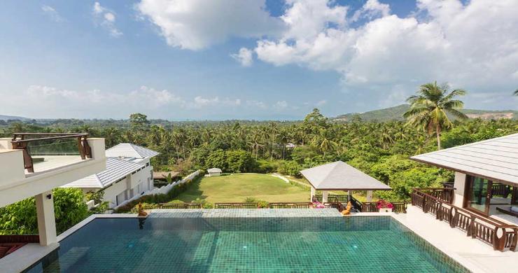 Expansive 6 Bedroom Sea View Villa in Maenam-6
