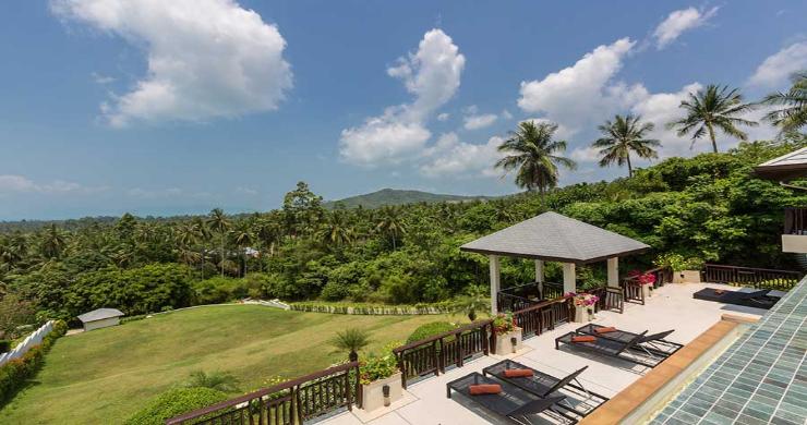 Expansive 6 Bedroom Sea View Villa in Maenam-21