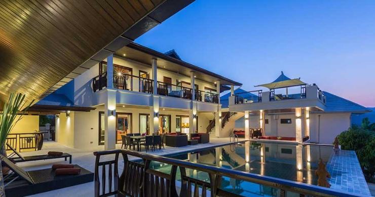 Expansive 6 Bedroom Sea View Villa in Maenam-20
