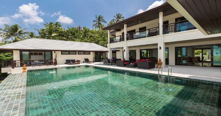 Expansive 6 Bedroom Sea View Villa in Maenam-5