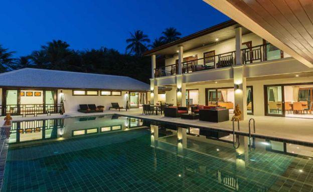 Expansive 6 Bedroom Sea View Villa in Maenam
