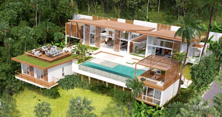Sleek 4 Bed Luxury Sea View Villas for Sale in Bangpor-2