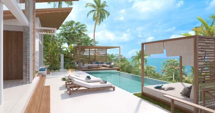 Sleek 4 Bed Luxury Sea View Villas for Sale in Bangpor-4