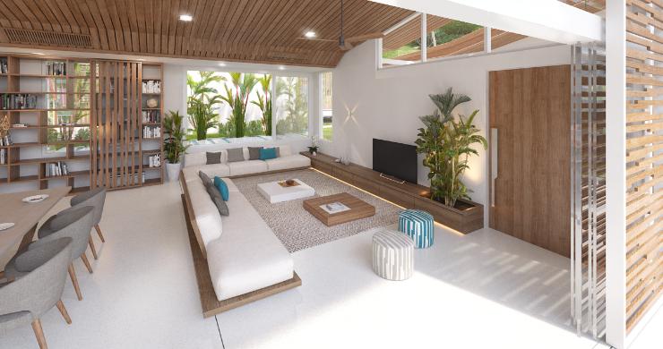 Sleek 4 Bed Luxury Sea View Villas for Sale in Bangpor-11