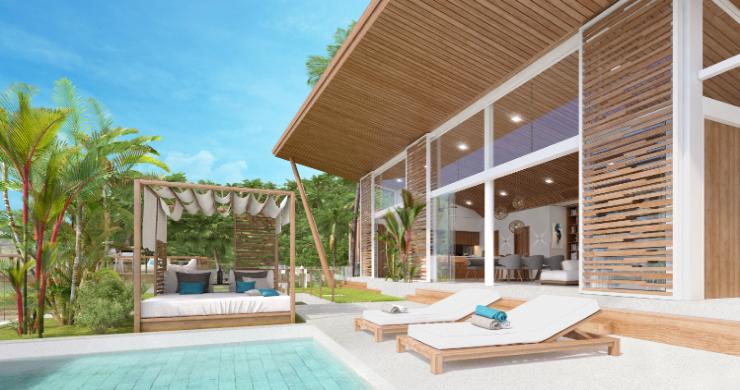 Sleek 4 Bed Luxury Sea View Villas for Sale in Bangpor-6