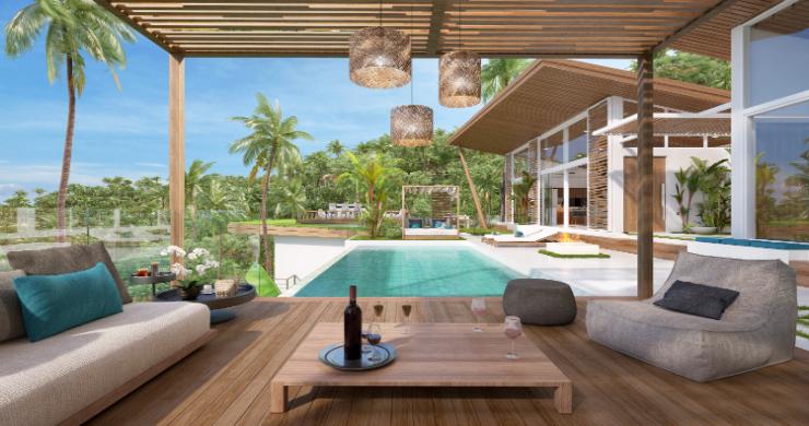 Sleek 4 Bed Luxury Sea View Villas for Sale in Bangpor-3
