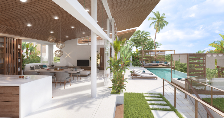 Sleek 4 Bed Luxury Sea View Villas for Sale in Bangpor-13