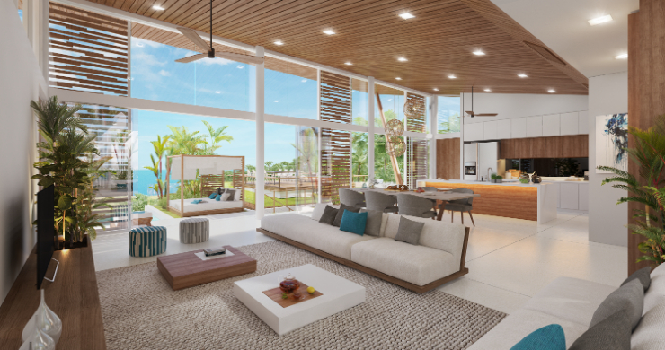 Sleek 4 Bed Luxury Sea View Villas for Sale in Bangpor-5