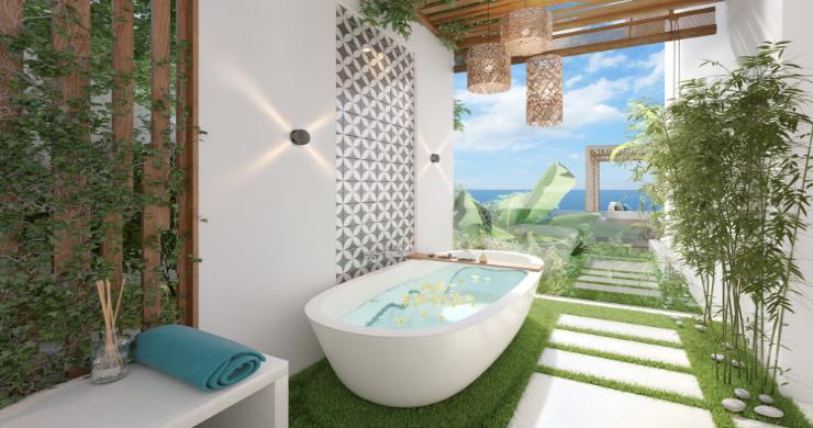 Sleek 4 Bed Luxury Sea View Villas for Sale in Bangpor-15