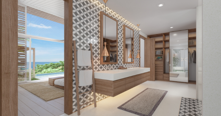 Sleek 4 Bed Luxury Sea View Villas for Sale in Bangpor-9