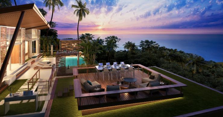 Sleek 4 Bed Luxury Sea View Villas for Sale in Bangpor-1
