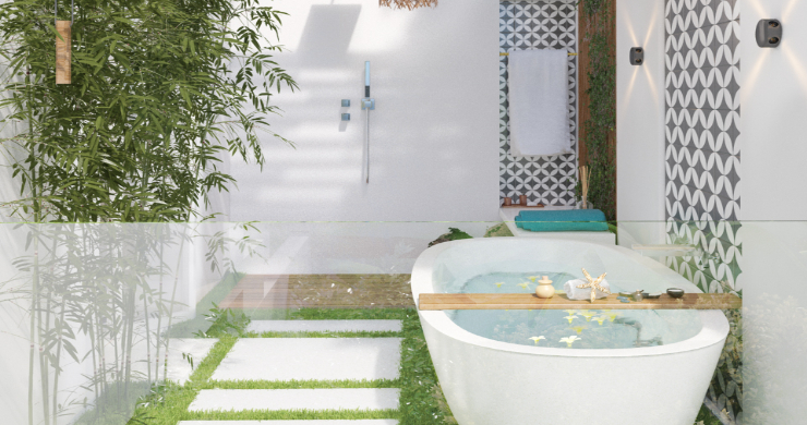Sleek 4 Bed Luxury Sea View Villas for Sale in Bangpor-14