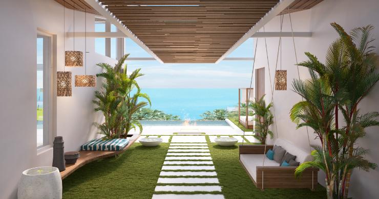 Sleek 4 Bed Luxury Sea View Villas for Sale in Bangpor-16