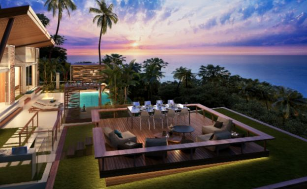 Bargain Sunset Sea-view Land for sale by Haad Tien