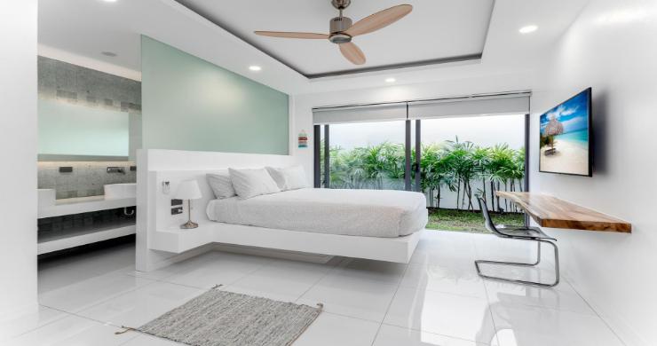 Balinese 3 Bed Large Garden Pool Villa in Maenam-15