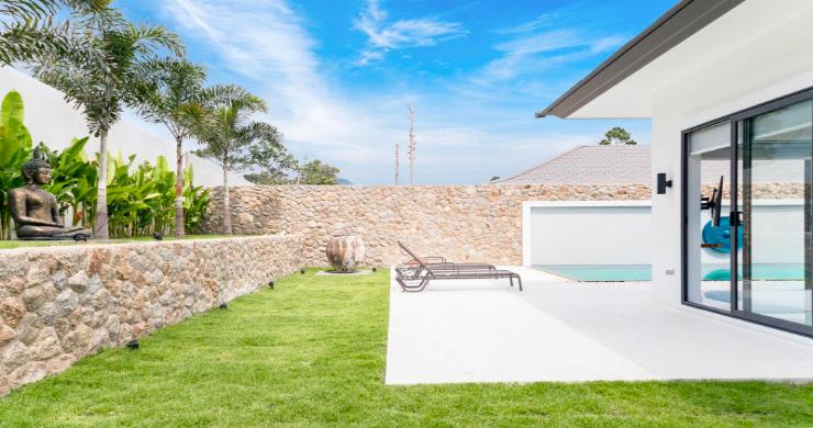 Balinese 3 Bed Large Garden Pool Villa in Maenam-20