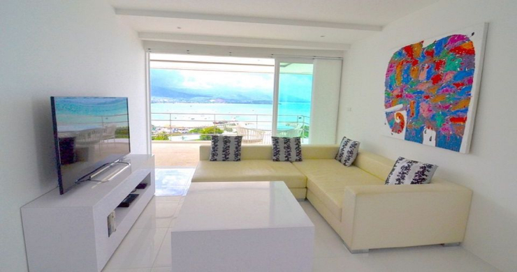 Modern 2 Bed Pool Sea-view Apartment in Big Buddha-5
