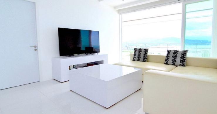 Modern 2 Bed Pool Sea-view Apartment in Big Buddha-4
