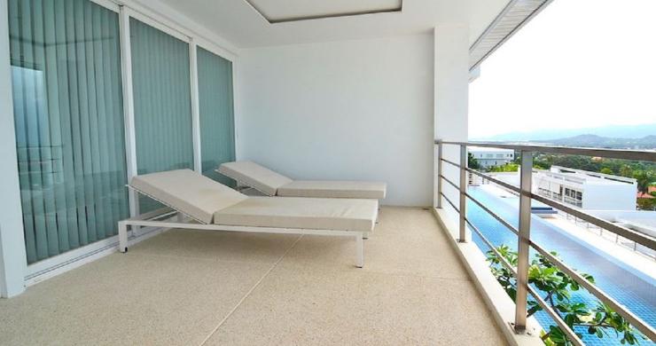 Modern 2 Bed Pool Sea-view Apartment in Big Buddha-12