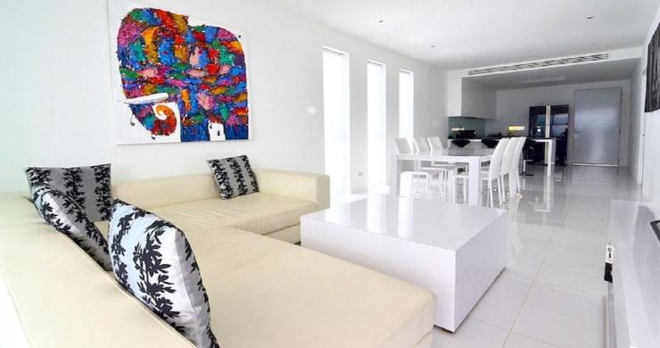 Modern 2 Bed Pool Sea-view Apartment in Big Buddha-3