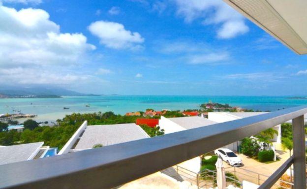 Modern 2 Bed Pool Sea-view Apartment in Big Buddha