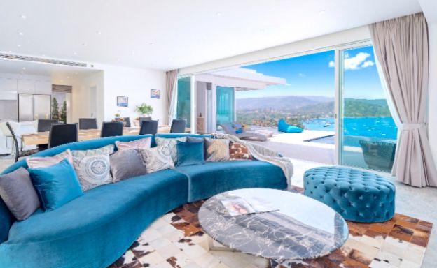 Sunset 5 Bed Luxury Sea-view Villa in Big Buddha
