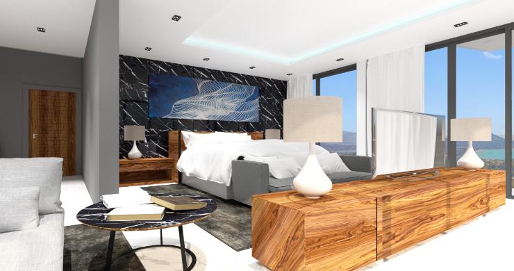 Spectacular 6 Bed Luxury Sea View Villa in Bangrak-3