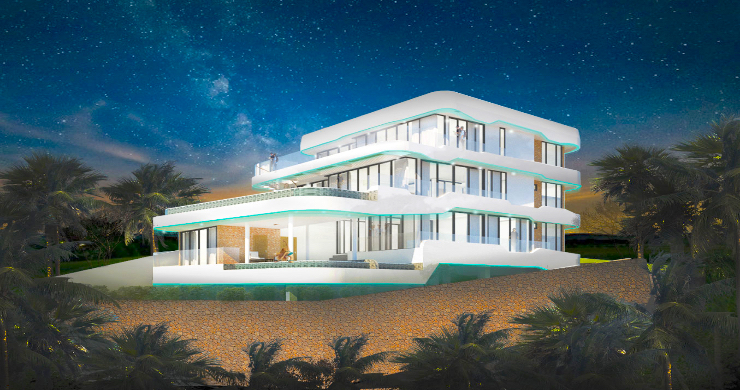 Spectacular 6 Bed Luxury Sea View Villa in Bangrak-1