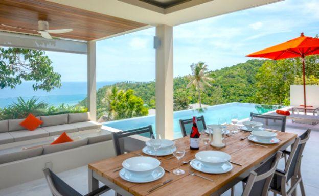 New 3 Bed Luxury Sea View Villa in Haad Salad