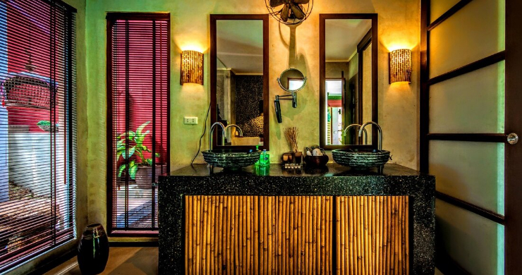 Stunning 3 Bed Bali Style Garden Villa in Bophut-10