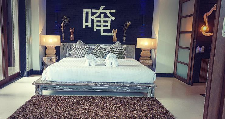 Stunning 3 Bed Bali Style Garden Villa in Bophut-13