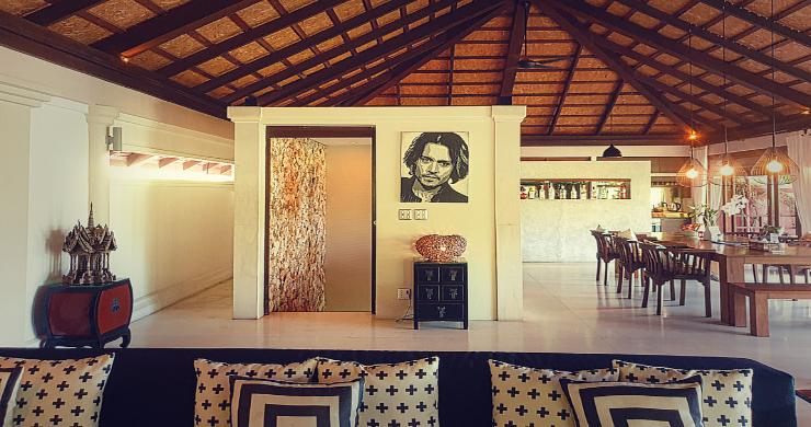 Stunning 3 Bed Bali Style Garden Villa in Bophut-7