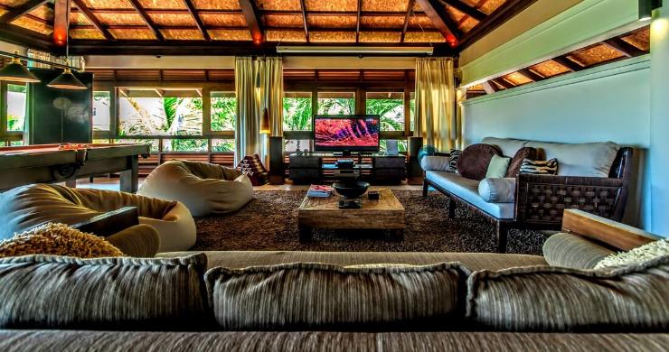 Stunning 3 Bed Bali Style Garden Villa in Bophut-2