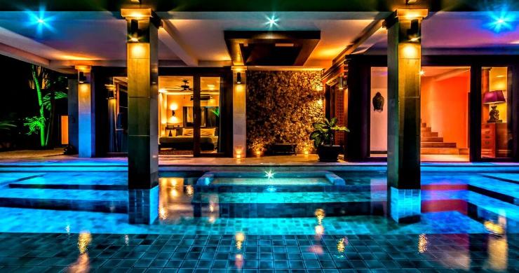 Stunning 3 Bed Bali Style Garden Villa in Bophut-3