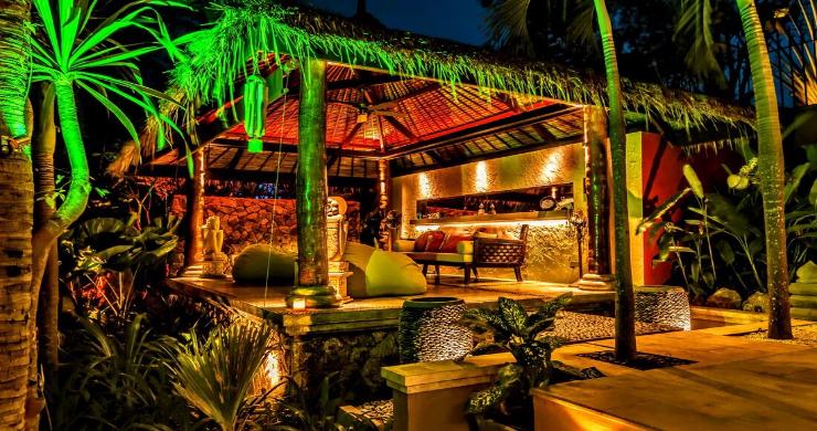 Stunning 3 Bed Bali Style Garden Villa in Bophut-6