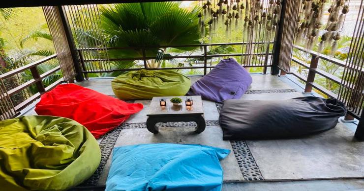 Stunning 3 Bed Bali Style Garden Villa in Bophut-5