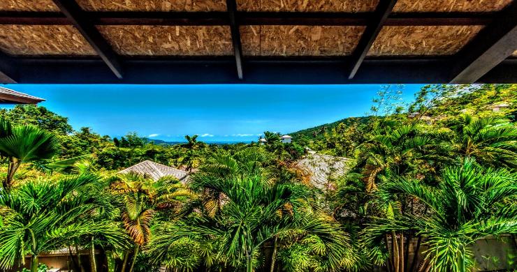 Stunning 3 Bed Bali Style Garden Villa in Bophut-15