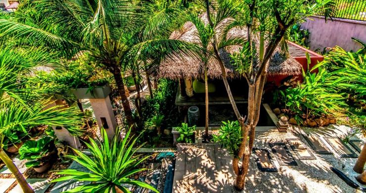 Stunning 3 Bed Bali Style Garden Villa in Bophut-16