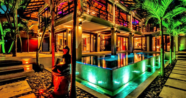 Stunning 3 Bed Bali Style Garden Villa in Bophut-1