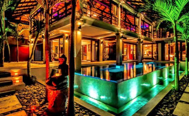 Stunning 3 Bed Bali Style Garden Villa in Bophut