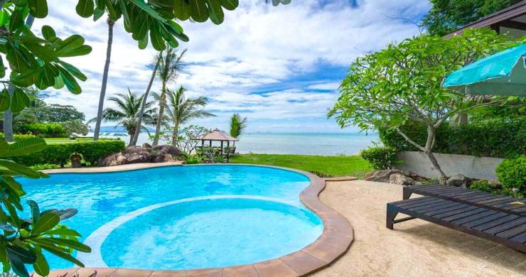 Beachfront 3 Bedroom Sea View Villa on Laem Yai Bay-1