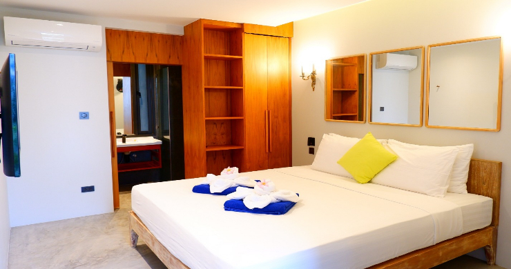 Beachfront 3 Bedroom Sea View Villa on Laem Yai Bay-9