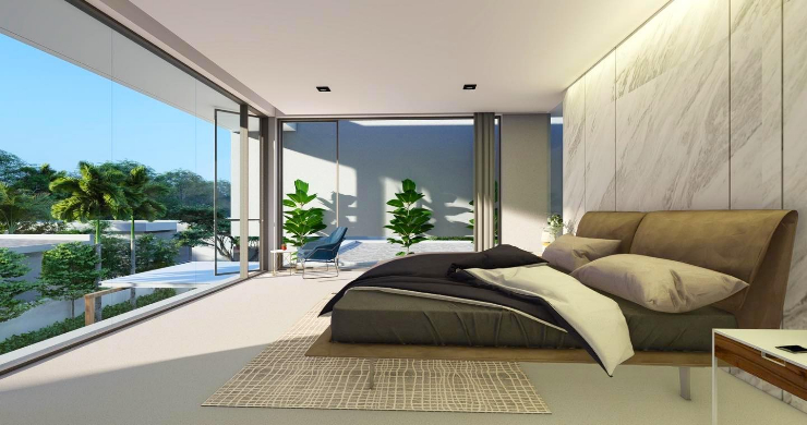 New Stylish Modern 2 Bed Private Pool Villas in Lamai-7