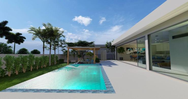 New Stylish Modern 2 Bed Private Pool Villas in Lamai-6