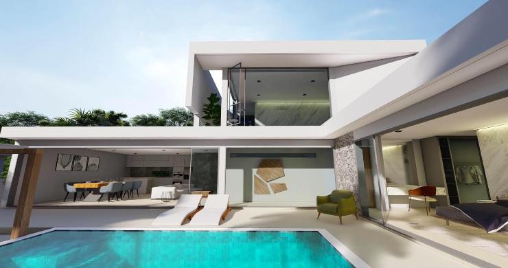 New Stylish Modern 2 Bed Private Pool Villas in Lamai-5