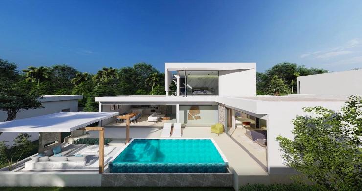 New Stylish Modern 2 Bed Private Pool Villas in Lamai-9